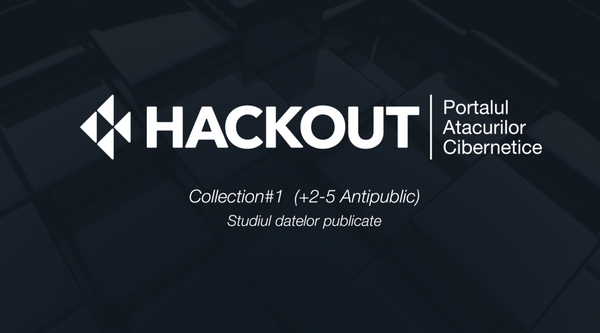 Collection#1 - analiză realizată de cei de la HACKOUT